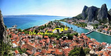 Apartamenty Sunce - in center with parking: A1(2+3) Omis - Riwiera Omis